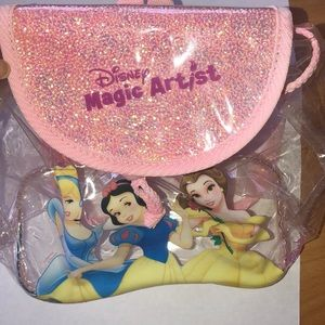 Clear Disney Princess Mini Backpack (Magic Artist)